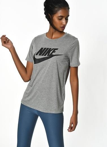 Nike Baskılı Tişört Gri